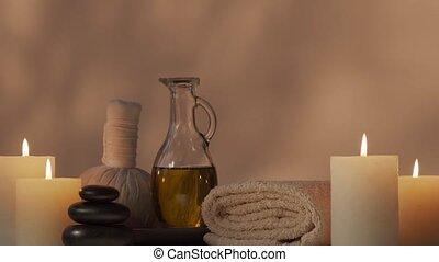 meditatie, masseren, composition., spa, procedures, ...