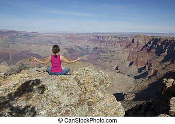 Meditation at the Canyon