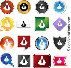 Meditation Concept Variety Set