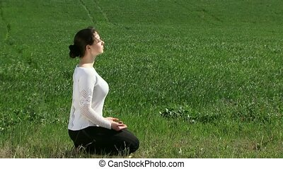 Meditation In The Lotus Position