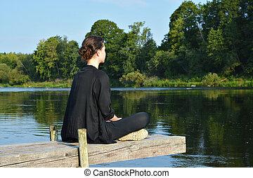 Meditation on nature.