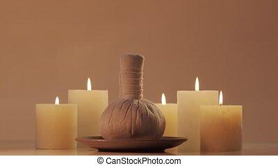 meditation., oosters, masseren, spa, achtergrond, ...