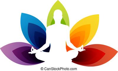 Meditation - Vector - Yoga Concept