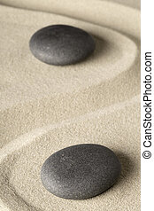meditation, zen, stein, hintergrund