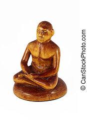 meditationing man