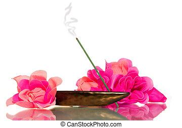 meditazione, incenso