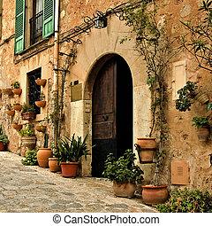 mediterráneo, aldea