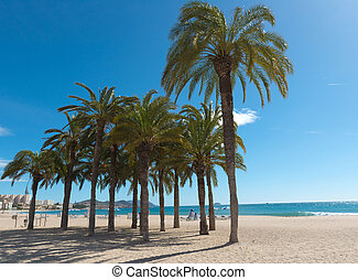 mediterrâneo, praia