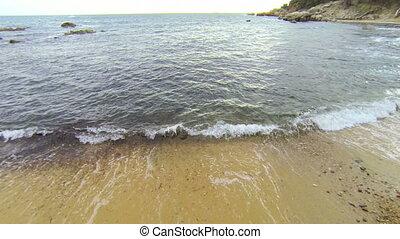 Mediterranean Beach Aerial View 02