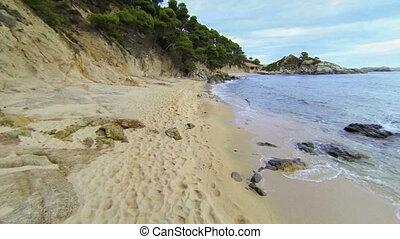 Mediterranean Beach Aerial View 05