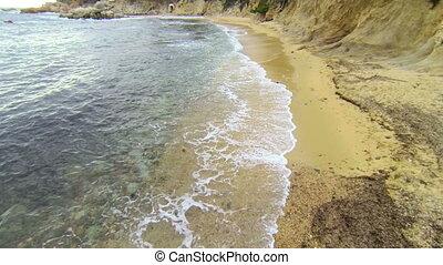 Mediterranean Beach Aerial View