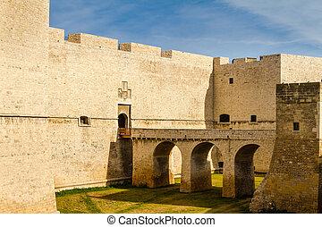 Mediterranean castle