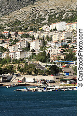 Mediterranean city by the sea (Croatia-Senj)