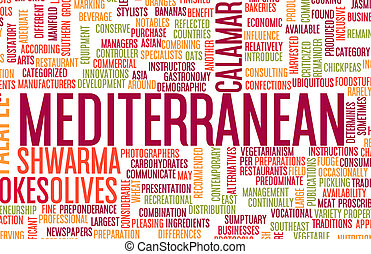 Mediterranean Food Menu