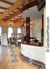 Mediterranean interior - bar