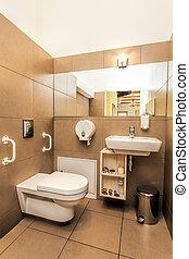Mediterranean interior - bathroom