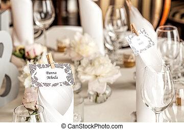 Mediterranean interior - bride