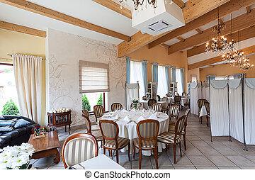 Mediterranean interior - classy interior
