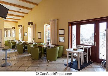 Mediterranean interior - lounge