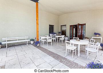 Mediterranean interior - porch