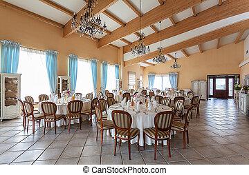 Mediterranean interior - reception