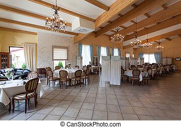 Mediterranean interior - restaurant