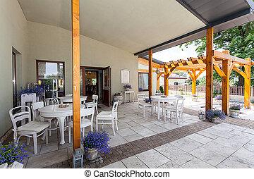 Mediterranean interior - veranda