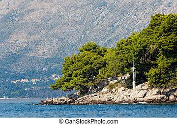 Mediterranean landscape - Cavtat, Croatia