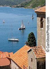 Mediterranean life in summer