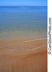 Mediterranean sea beach shore coastline water