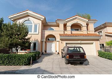 Mediterranean Single Family House Beijing, China