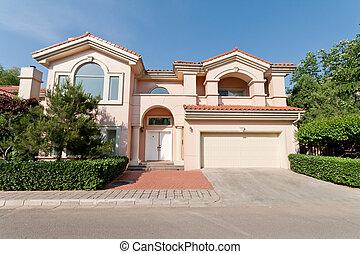 Mediterranean Single Family House Beijing, China -...