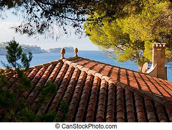 Mediterranean Terracotta roof