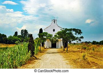 mediterranean village - a view of a mediterranean little...