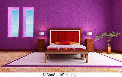 mediterraneo, camera letto