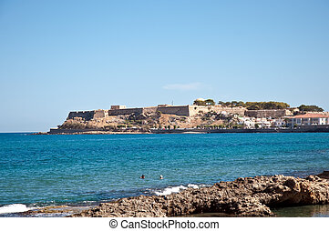 mediterraneo, crit., sea., greece.