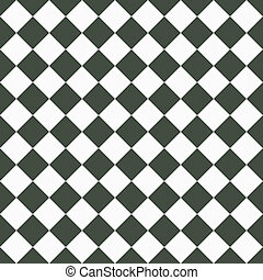 Medium Gray and White Diagonal Checkers Textured Fabric Background that is seamless and repeats