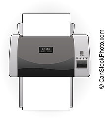 Ink Jet Printer - Medium Home Color Photo Ink Jet Printer ...