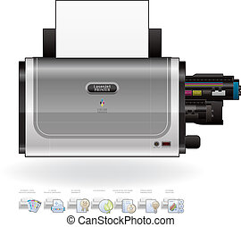 Laser Jet Printer - Medium Home Color Photo Laser Jet ...