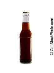 Medium Homebrew in Clear Bottle