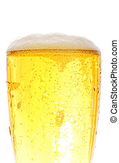 Medium shot of beer pint
