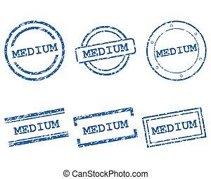 Medium stamps
