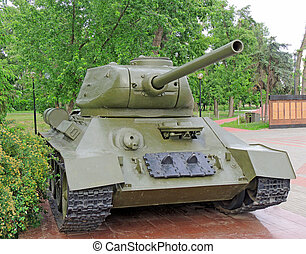 Medium tank of the World War II
