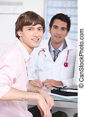 medizin, beratungsgespräch