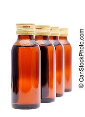 medizin- flaschen