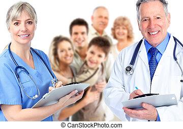 Medizin, Gruppe, Doktor