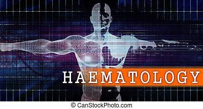 medizin, haematology, industriebereiche