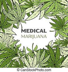 medizin, marihuana, hintergrund