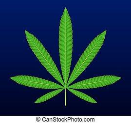 medizin, marijuana., cannabis, .