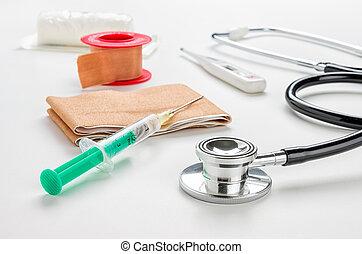 medizin, produkte, und, ausrüstung